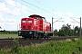 """MaK 1000370 - DB Fahrwegdienste """"212 323-0"""" 24.06.2011 Quarnstedt [D] Helmut Philipp"""