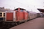 "MaK 1000372 - DB ""212 325-5"" 07.12.1989 WuppertalOberbarmen [D] Gerd Hahn"
