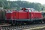 """MaK 1000376 - DB Services """"212 329-7"""" 28.09.2008 - Kaiserslautern, Bahnhof EinsiedlerhofRoland Martini"""