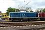 """MaK 1000376 - DB Fahrwegdienste """"212 329-7"""" 02.05.2010 - Schwetzingen, BahnhofErnst Lauer"""