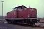 """MaK 1000379 - DB """"213 332-0"""" 27.12.1989 Siershahn,Bahnbetriebswerk [D] Carl-Otto Ames"""