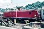 """MaK 1000380 - DB """"213 333-8"""" 01.10.1981 - Dillenburg, BahnhofErnst Lauer"""