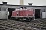 """MaK 1000381 - DB """"213 334-6"""" 19.07.1974 Koblenz-Mosel,Bahnbetriebswerk [D] Hinnerk Stradtmann"""