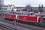 """MaK 1000381 - DB """"213 334-6"""" 19.04.1993 - Siershahn, BahnhofAxel Schaer"""