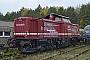 "MaK 1000381 - RBG ""213 334"" 09.11.2012 - Neustrelitz, NETINERA WerkeSebastian Schrader"