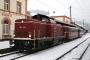 "MaK 1000382 - NeSA ""V 100 2335"" 30.12.2005 - Hausach, BahnhofMathias Fetscher"