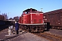 """MaK 1000382 - DB """"213 335-3"""" 16.01.1991 - Siershahn, BahnhofCarl-Otto Ames"""