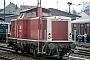 """MaK 1000383 - DB """"213 336-1"""" 27.08.1990 Remagen,Bahnhof [D] Ernst Lauer"""