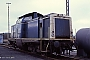 """MaK 1000383 - DB """"213 336-1"""" 29.12.1988 - Siershahn, BahnbetriebswerkCarl-Otto Ames"""