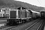 "MaK 1000383 - DB ""213 336-1"" 07.08.1981 - Herborn, BahnhofDietrich Bothe"