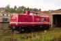 """MaK 1000386 - WHF """"213 339"""" 30.08.2006 - SchleusingenMartin Heier"""