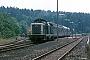 """MaK 1000388 - DB """"213 341-1"""" 09.08.1989 - Buchholz, BahnhofIngmar Weidig"""